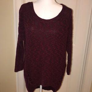 Express hi low sweater